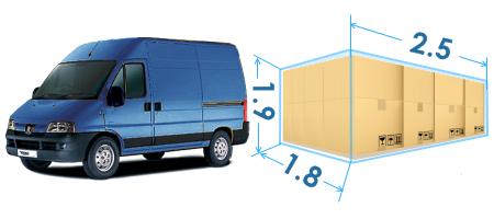 Микроавтобус PEUGEOT