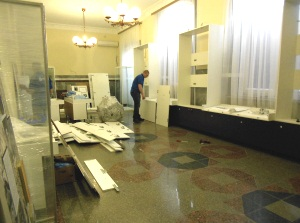 Сборка разборка музейной мебели